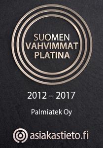 Suomen vahvimmat Platina 2012-2017